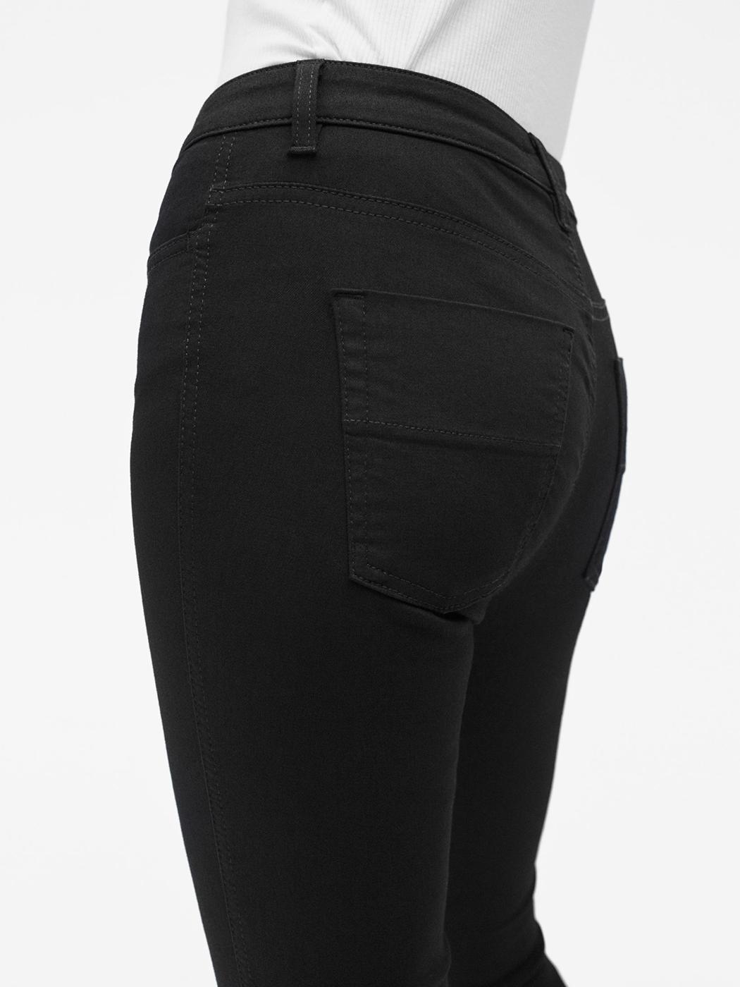 Lola Super Stretch Jean - Black - Filippa K - Side shot