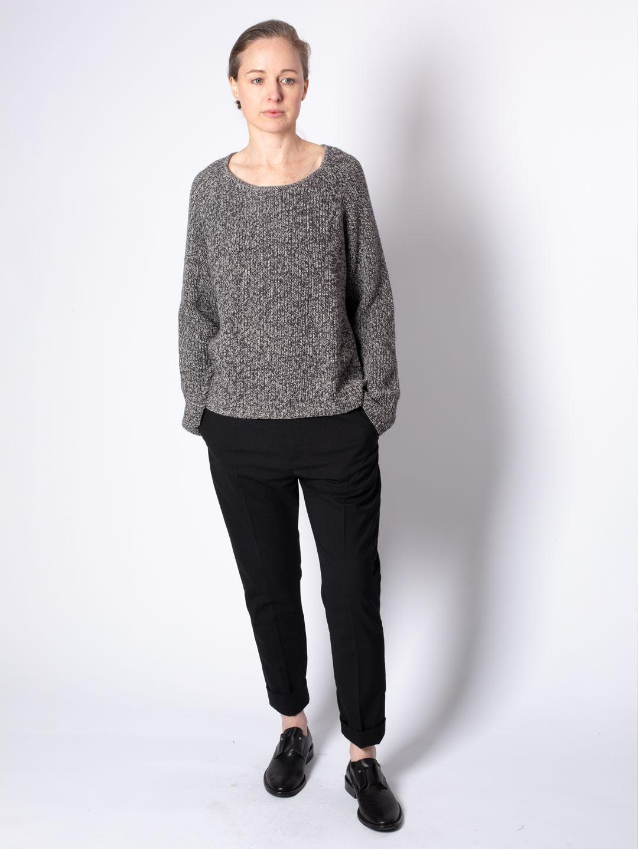 A0103-Smith-Sweater-Hope-Sthlm-Grey-Melange-Front-Full-Body