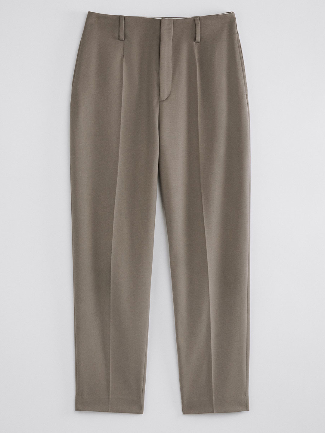 A0958-Karlie-Trouser-Filippa-K-Grey-Taupe-Front-Flat-Lay