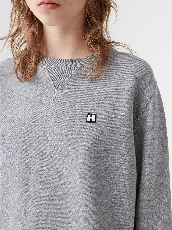 A0972-Coach-Sweatshirt-Hope-Sthlm-Grey-Melange-close-up-logotype