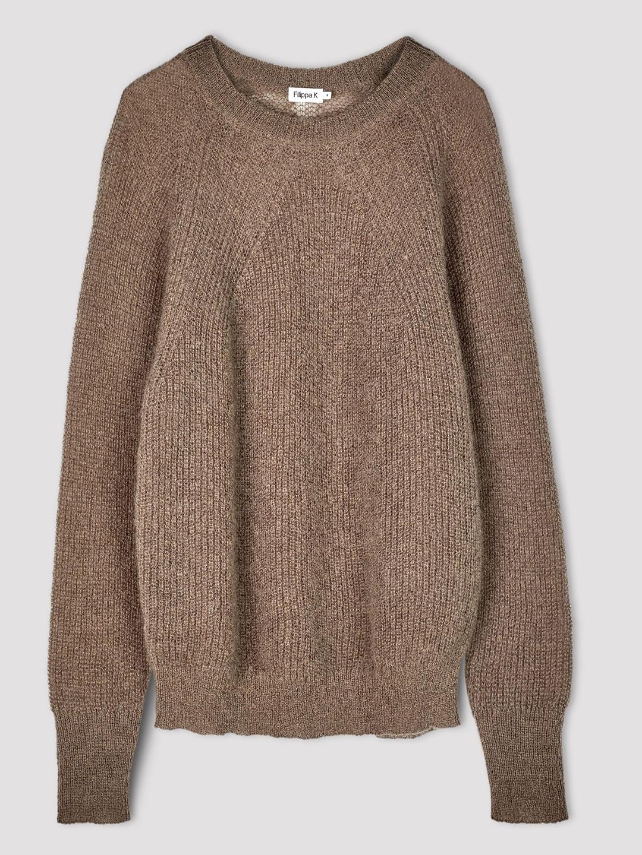 A1001-Mohair-R-neck-Sweater-Filippa-K-Dk-Toupe-Flat-Lay
