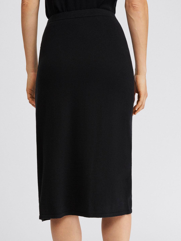 A1084-Honor-Knitted-Skirt-Filippa-K-Black-Back
