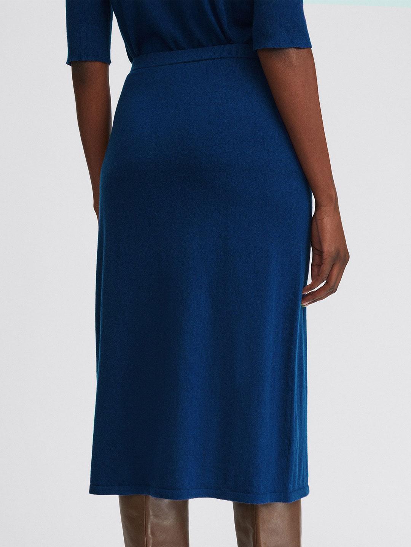 A1084-Honor-Knitted-Skirt-Filippa-K-Marin-Blue-Back