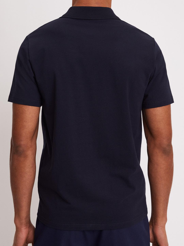 B1112-Lycra-Polo-T-Shirt-Filippa-K-Navy-back