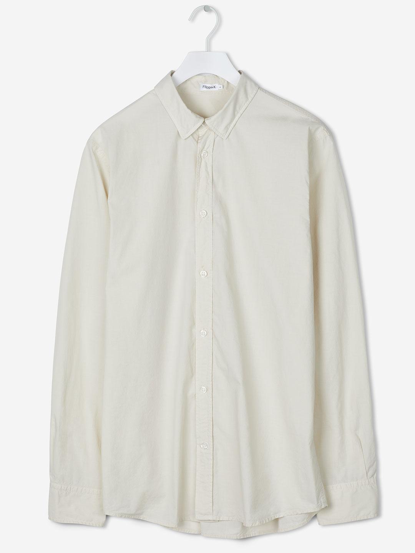 B1128-Ben-Poplin-Shirt-Filippa-K-Birch-Flat-Lay