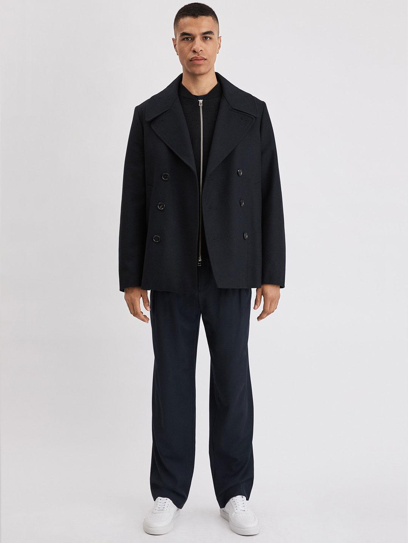B1170-Hague-Pea-Coat-Filippa-K-Blue-Full-Body-Front