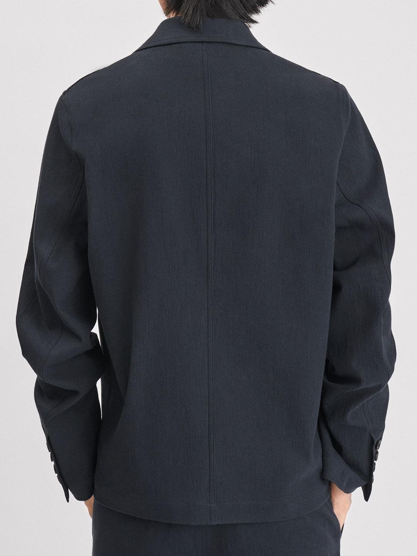 B1178-Mitch-Cotton-Jacket-Filippa-K-Dk-Navy-Back