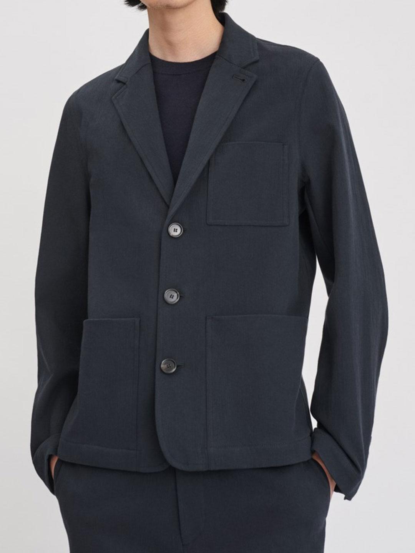 B1178-Mitch-Cotton-Jacket-Filippa-K-Dk-Navy-Front