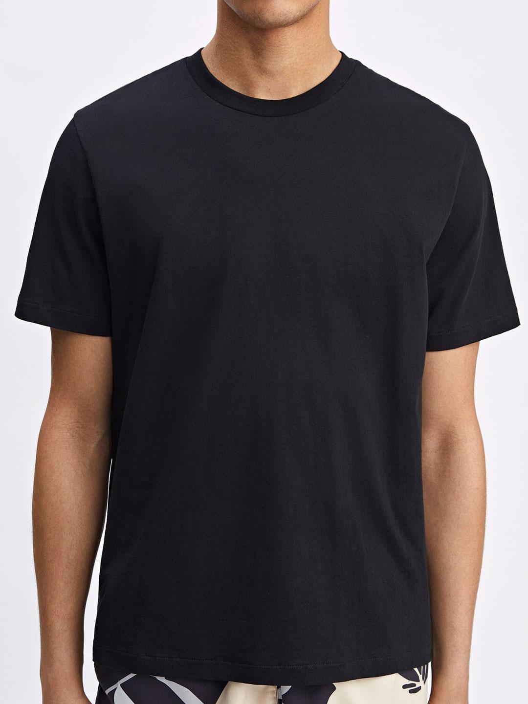 B1231-Single-Jersey-Tee-Filippa-K-Black-Front