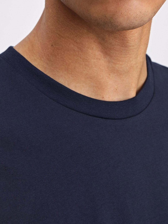 B1231-Single-Jersey-Tee-Filippa-K-Navy-close-up-neckline