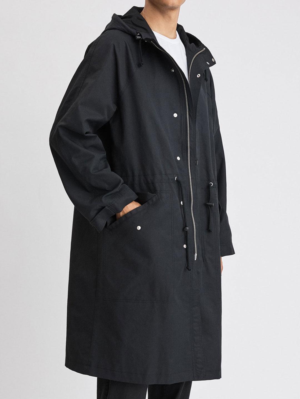 B1281-Vancouver-Coat-Filippa-K-Black-Front