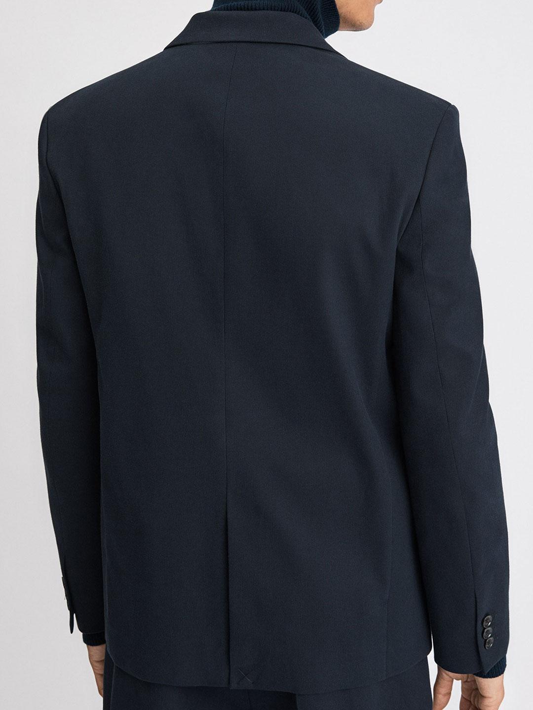 B1305-Harrison-Cotton-Blazer-Filippa-K-Navy-Back