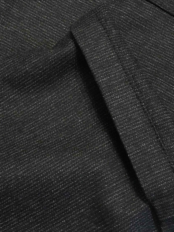 B1348-Edwin-Edit-Trouser-Hope-Sthlm-Black-Melange-Stripe-Front-Close-Up-Fabric