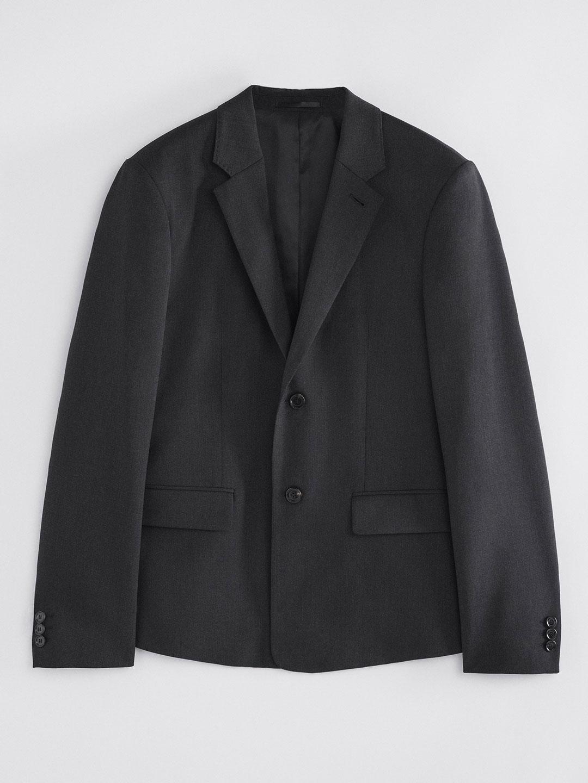 B1392-Harry-Wool-Blazer-Filippa-K-Anthracite-Front-Flat-Lay