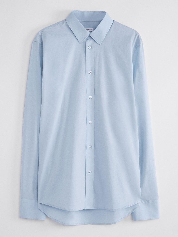S0008-Paul-Stretch-Shirt-Filippa-K-Lt-Blue-2-Front-Flat-Lay