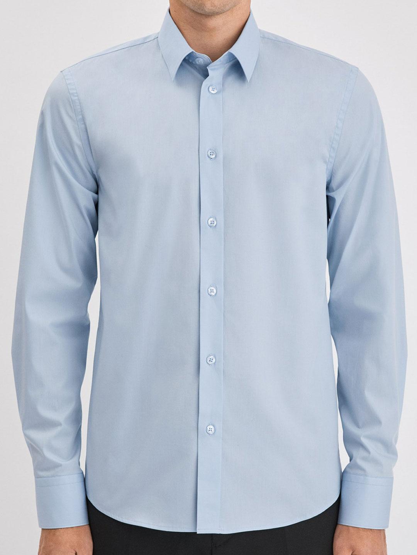 S0008-Paul-Stretch-Shirt-Filippa-K-Lt-Blue-2-Front