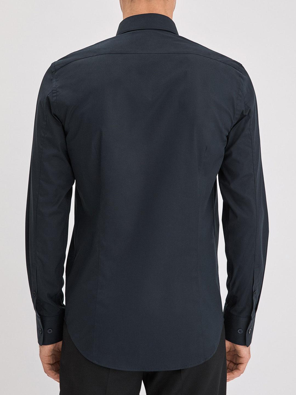 S0008-Paul-Stretch-Shirt-Filippa-K-Navy-2-Back