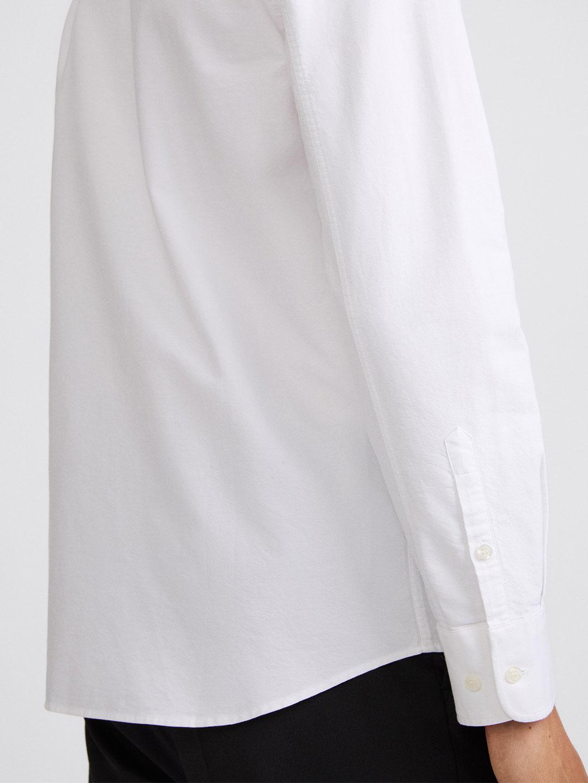 S0014-Tim-Oxford-Shirt-Filippa-K-White-2-Front-Close-Up-Sleeve