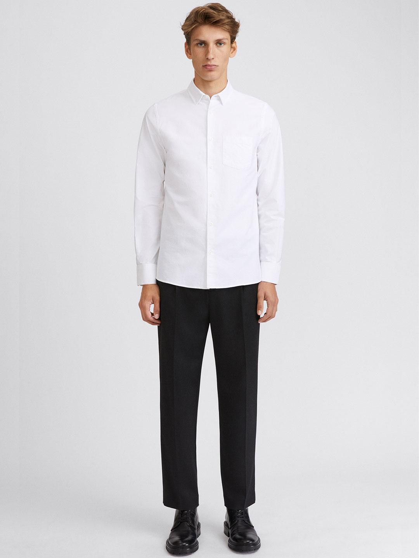S0014-Tim-Oxford-Shirt-Filippa-K-White-2-Front-Full-Body