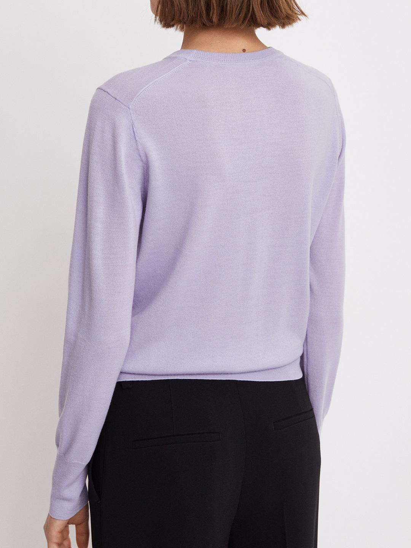 S0118-Merino-R-neck-Sweater-Filippa-K-Hyacinth-Back